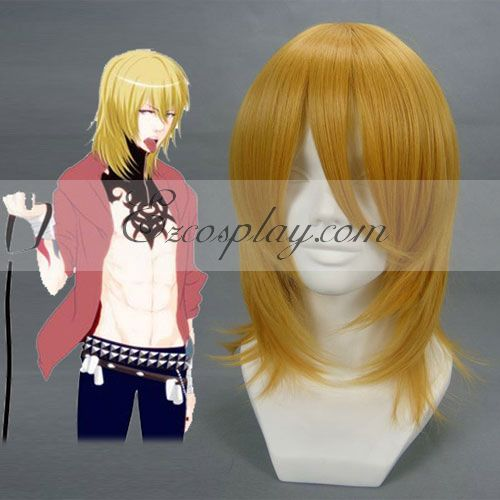 DuRaRaRa Shizuo Heiwajima Brown Cosplay Wig-008B