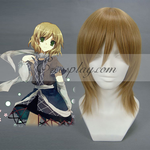 Touhou Project Mizuhashi Parsee Dark Brown Cosplay Wig-013A