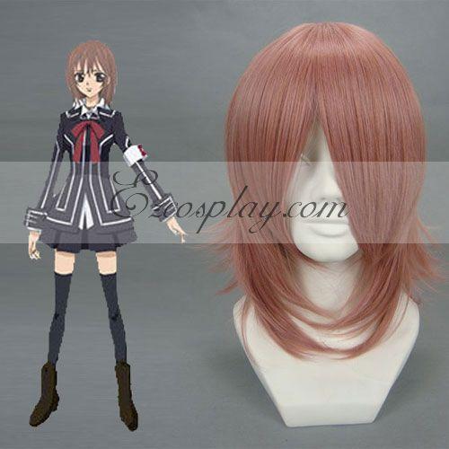 Vampire Knight Kurosu Yuuki Red Brown Cosplay Wig-027A
