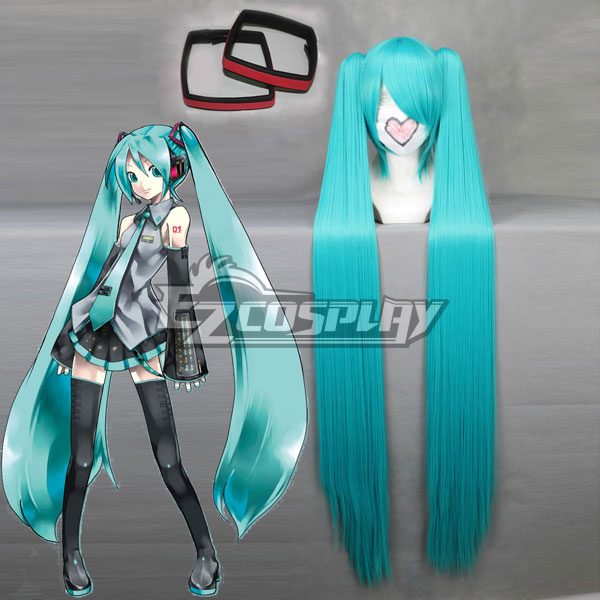 Vocaloid Project Diva Miku Cosplay Wig 042A  Hairpin