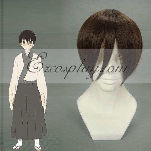 Gintama Shimura Shinpachi Brown Cosplay Wig-103A
