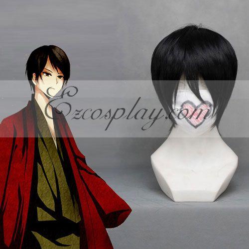 Nurarihyon no Mago Tamasiki Black Cosplay Wig-109A