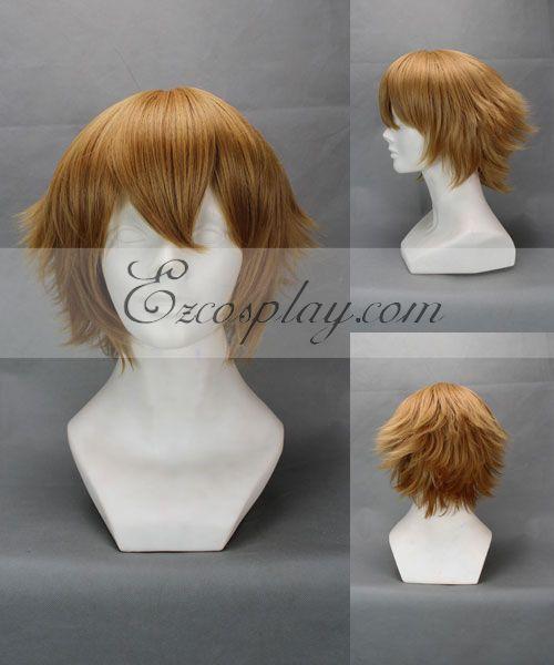 The Prince of Tennis Shiraishi Kuranosuke Brown Cosplay Wig-143A