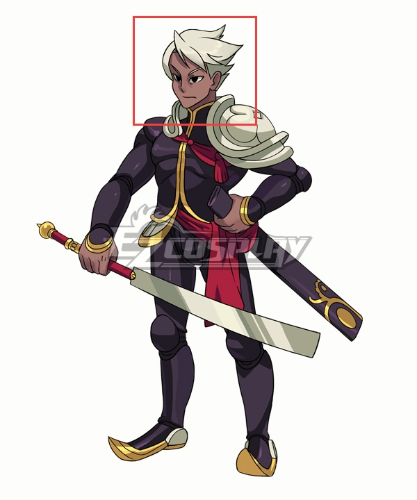 Indivisible Dhar Silver Cosplay Wig