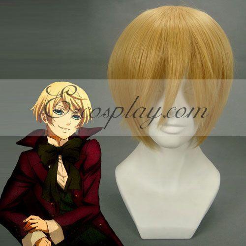 Black ButlerII Alois Trancy Yellow Cosplay Wig-169A