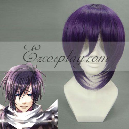 Hakuouki Saito Hajime Purple Cosplay Wig