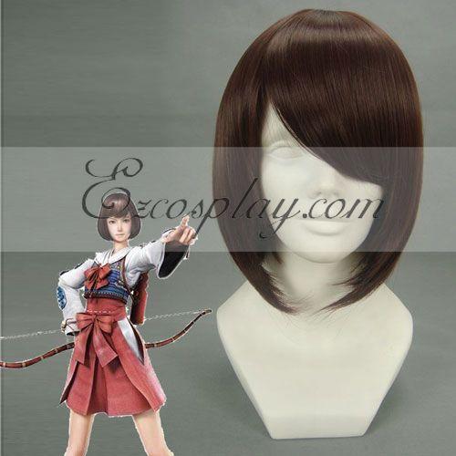 Basara3 Hinoyume Brown Cosplay Wig-187A