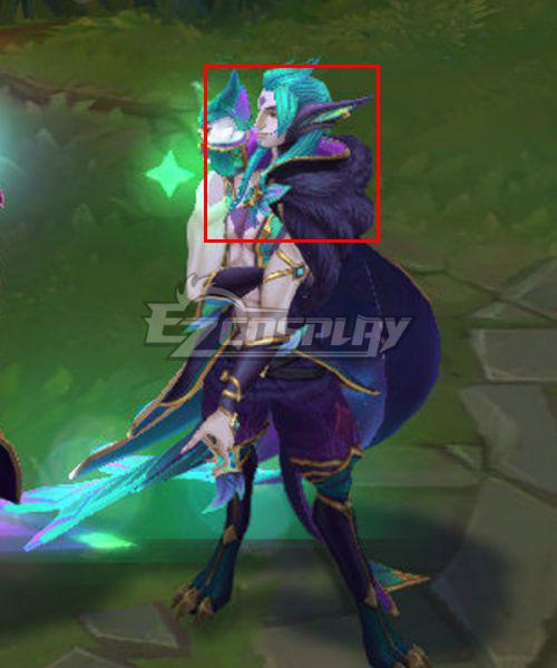 League of Legends LOL Star Guardian 2019 Rakan Green Cosplay Wig