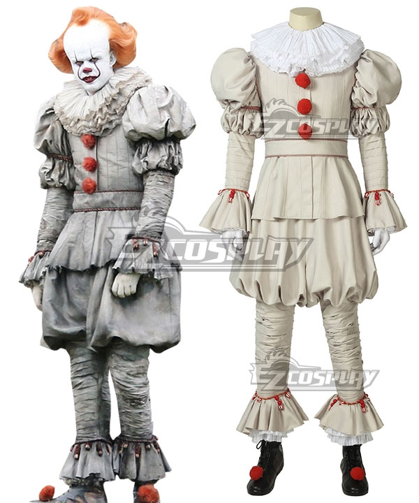 2019 Movie It Pennywise the Dancing Clown Halloween Cosplay Costume