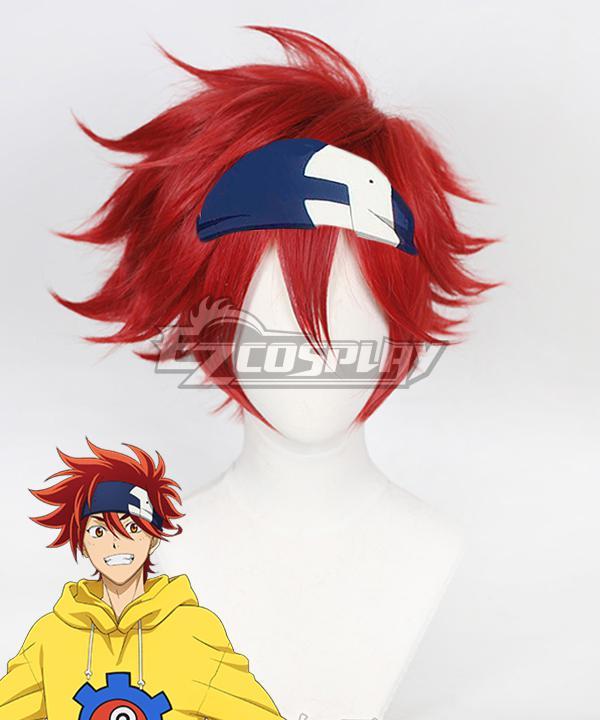SK8 the Infinity SK�?Reki Red Cosplay Wig