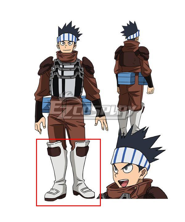 My Hero Academia Season 5 Vosetsu Awase Silver Shoes Cosplay Boots