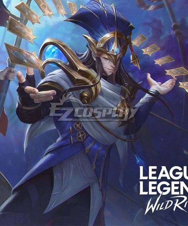 League of Legends: Wild Rift LOL Stargazer Twisted Fate Cosplay Costume
