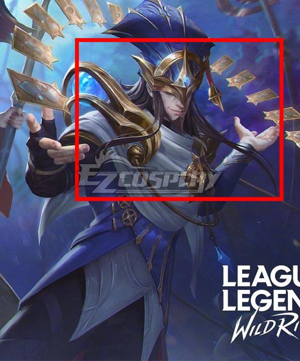League of Legends: Wild Rift LOL Stargazer Twisted Fate Brown Cosplay Wig