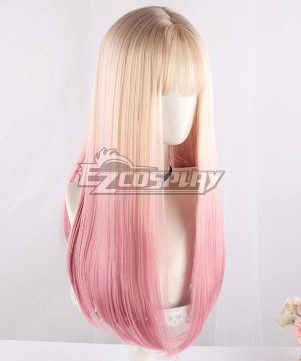 Japan Harajuku Lolita Series Golden Pink Cosplay Wig - EWL162Y