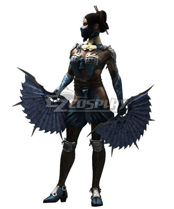 Mortal Kombat 11 Kitana Cosplay Costume - B Edition