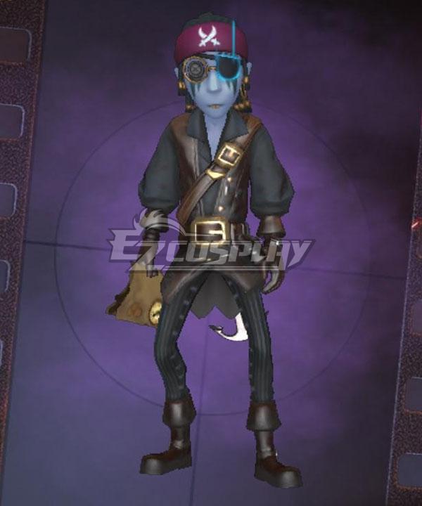 Identity V Freddy Riley Pirate Lawyer Navigator Halloween Cosplay Costume