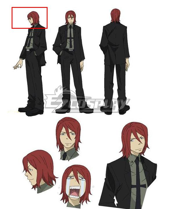 Soul Eater Spirit Red Cosplay Wig