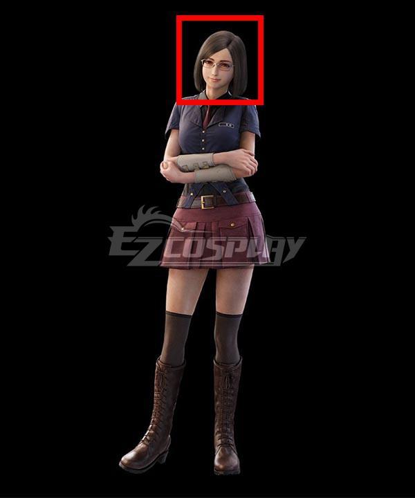 Final Fantasy 7 Remake Intergrade Nayo Brown Cosplay Wig