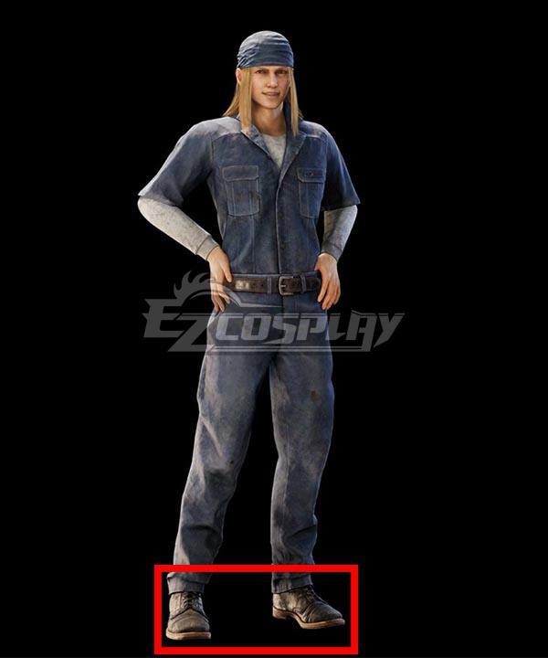 Final Fantasy 7 Remake Intergrade Billy Bob Brown Cosplay Shoes