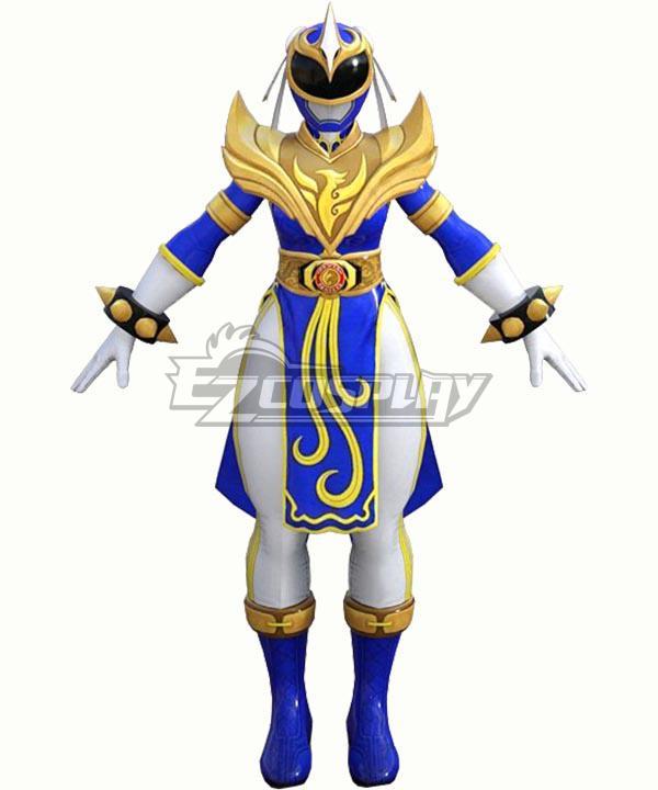 Power Rangers: Battle for the Grid Street Fighter Blue Phoenix Ranger Chun-Li Ranger Cosplay Costume