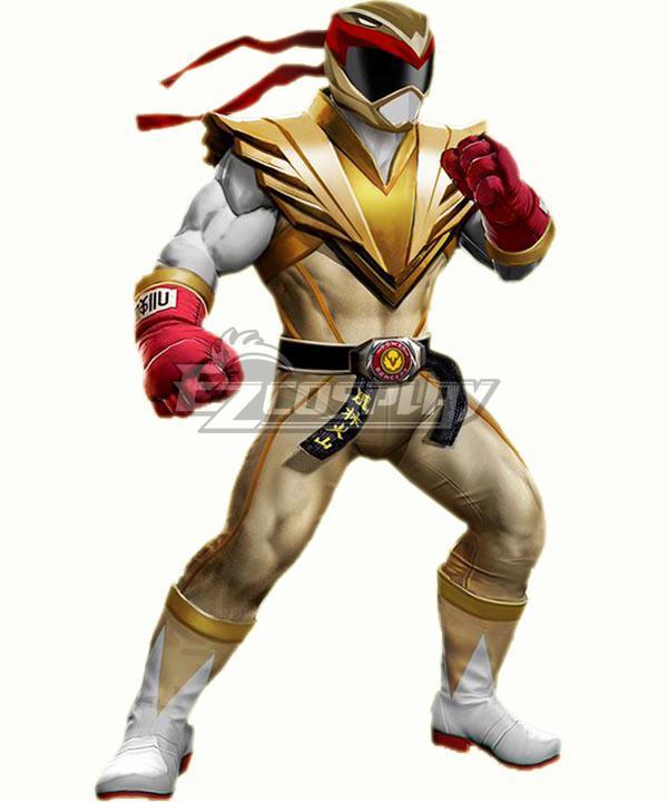 Power Rangers: Battle for the Grid Street Fighter Crimson Hawk Ranger Ryu Ranger Cosplay Costume