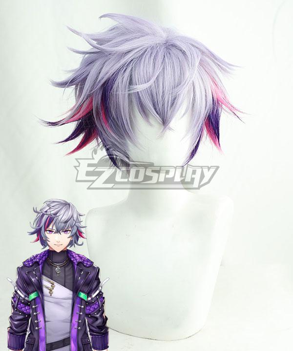 Virtual YouTuber Fuwa Minato Purple Cosplay Wig