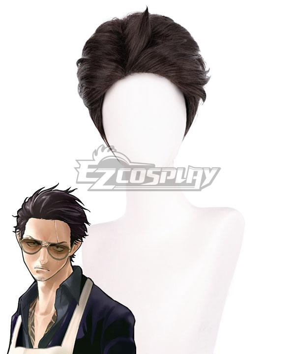 The Way Of the Household Husband Tatsu Black Cosplay Wig