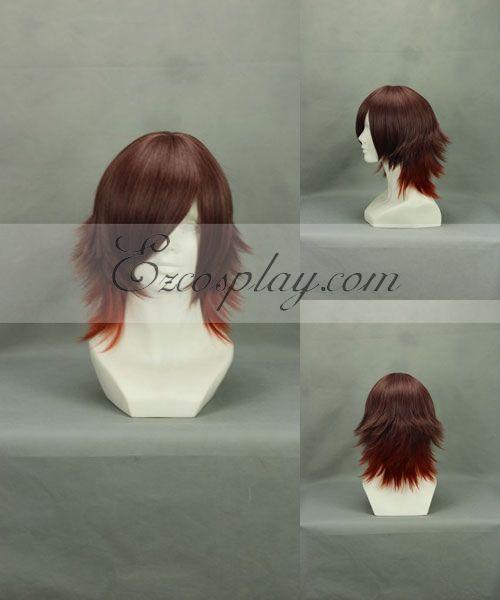 Amnesia Shin Red Brown Cosplay Wig-266A