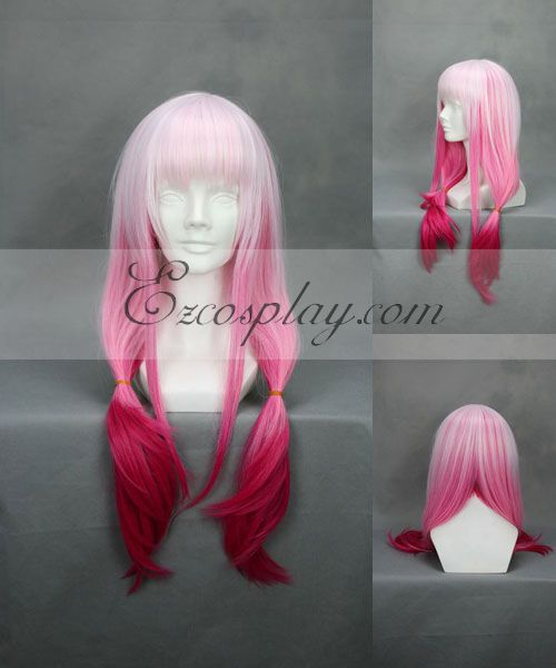 Guilty Crown Yuzuriha Inori Pink Cosplay Wig 268A