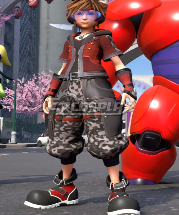 Kingdom Hearts Iii Kingdom Hearts 3 Sora Big Hero 6 Cosplay Costume