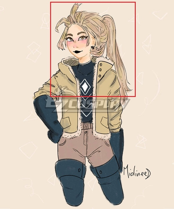 My Hero Academia Hawks Genderbend Light Yellow Cosplay Wig