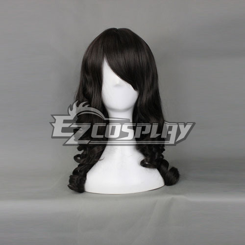 Universal EuropeStyle Black 50cm Wave Wig-324B