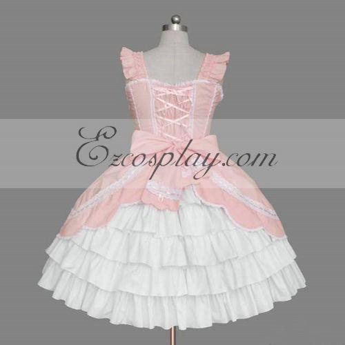 Pink Gothic Lolita Dress - ELT0080