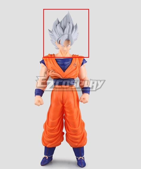 Dragon Ball Super Son Goku Kakarotto  Silver Cosplay Wig