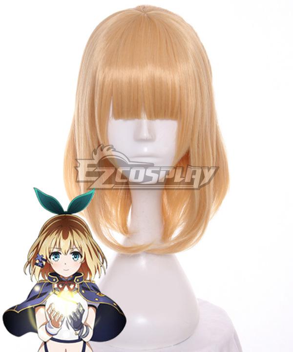 Akashic Records of Bastard Magic Instructor Rokudenashi Majutsu Koushi to Akashic Records Rumia Tingel Golden Cosplay Wig