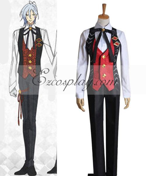 AMNESIA Ikki Working Uniform Cosplay Costume