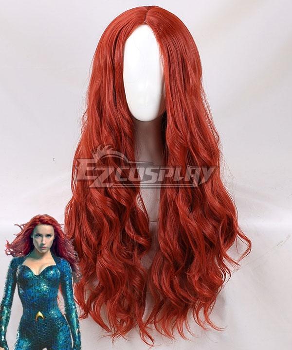 DC Aquaman 2018 Movie Mera Red New Editon Cosplay Wig