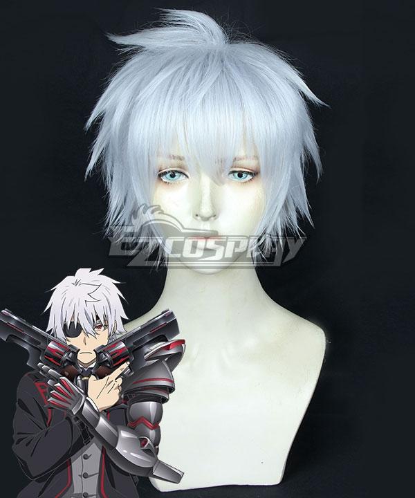 Arifureta: From Commonplace to World's Strongest Hajime Nagumo Silver White Cosplay Wig