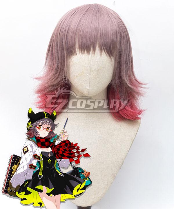 Arknights Deepcolor Pink Cosplay Wig