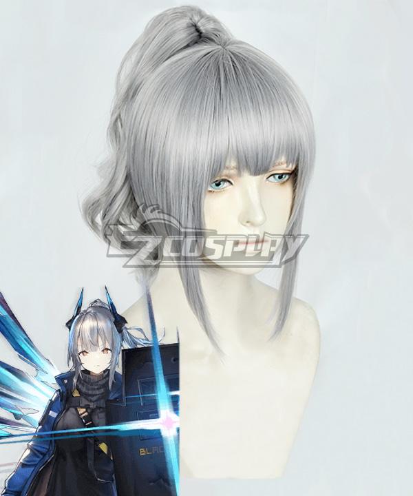 Arknights Liskarm Gray Cosplay Wig