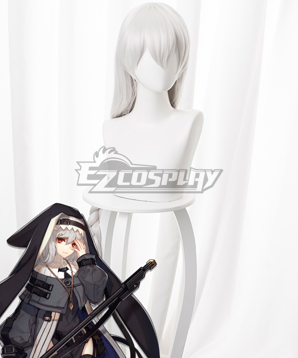 Arknights Specter White Cosplay Wig
