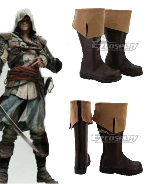 Assassins Creed 4 : Black Flag Connor Kenway Cosplay Boots