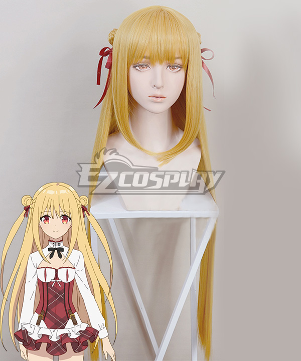 Assassins Pride Melida Angel Golden Cosplay Wig