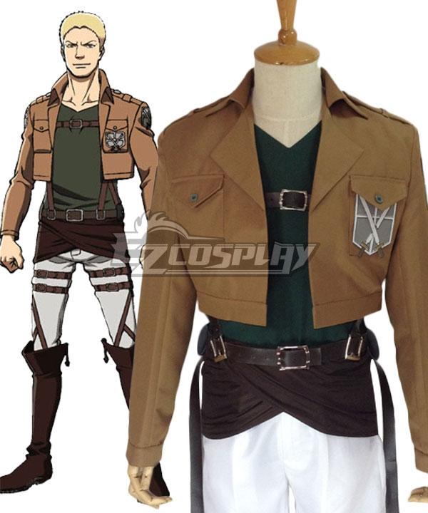 Attack on Titan Shingeki no Kyojin Reiner Braun Training Corps Cosplay Costume