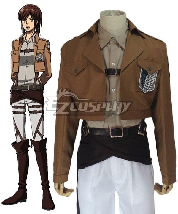 Attack on Titan Shingeki no Kyojin Sasha Blause 104th Cadet Corps Cosplay Costume