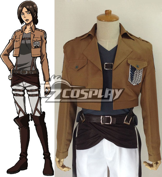 Attack on Titan Shingeki no Kyojin Ymir Scout Regiment Cosplay Costume
