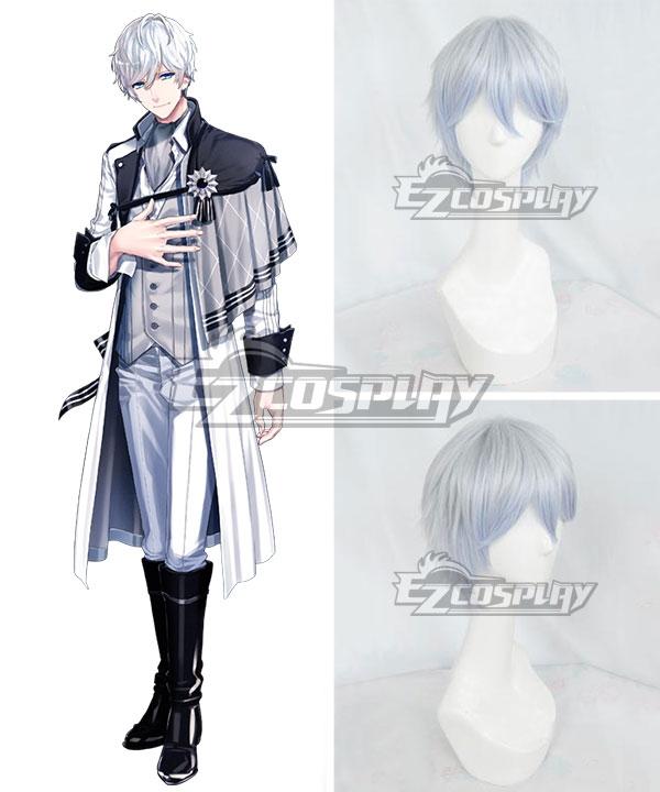 B-Project Kodou Ambitious Tomohisa Kitakado Silver Blue Cosplay Wig