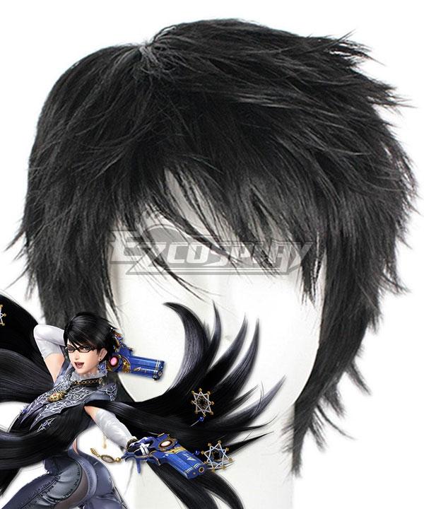 Bayonetta 2 Bayonetta Black Cosplay Wig