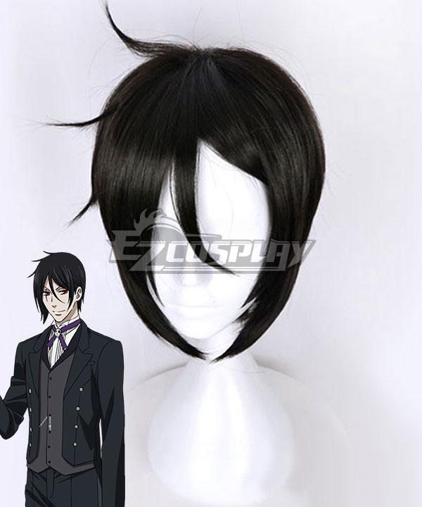 Black Butler Sebastian Michaelis Black Cosplay Wig