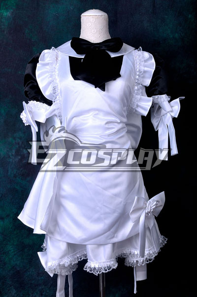 Black & White Maid Dress Cosplay Costume